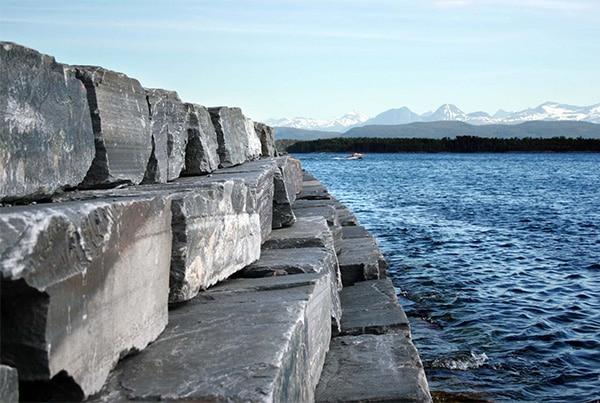 Mur- Murblokk med naturkant