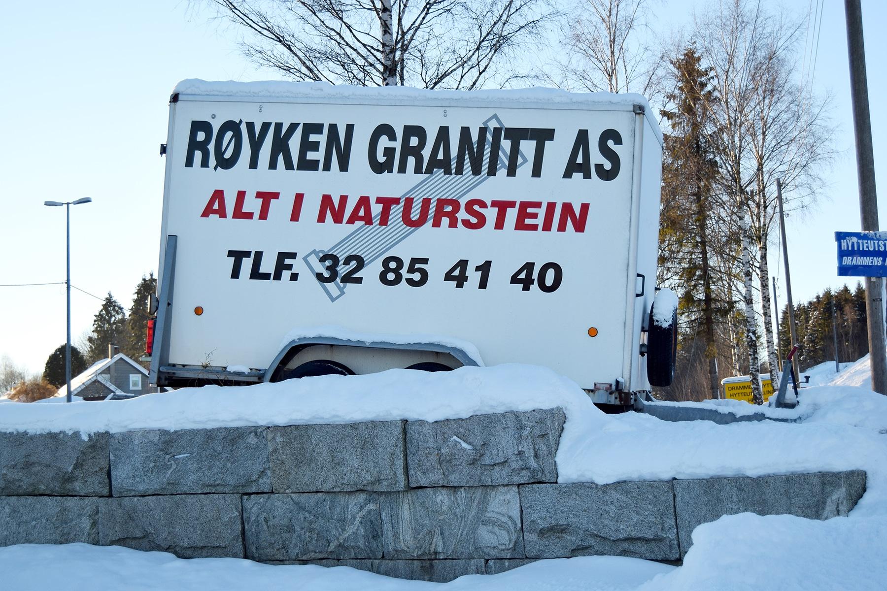 granittmur Drammen
