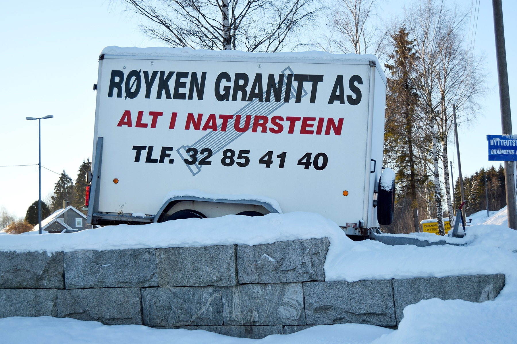 granittmur Bærum