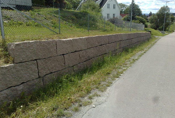 Mur Røyken råkilt Vestfossen